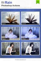 Rain Photoshop Actions by Wnison
