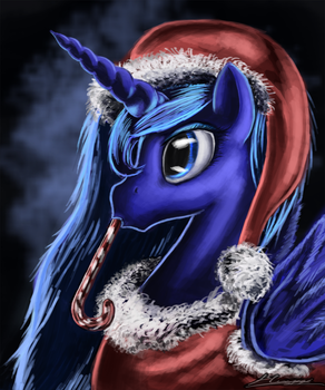 Cold Christmas Eve by Huussii