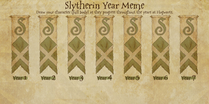 Slytherin Year Meme by AlyciaAnimation