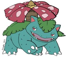 003 Venusaur by Guillo-Carregha