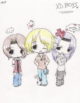 XD Boys COLORED by srcpcsoha