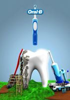 Electronic toothbrush by Ginho