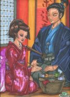 Tea Ceremony by BlueFrog597