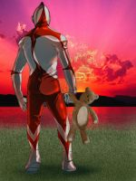 ultraman by probot-x
