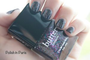 Butter London The Black Knight by Polish-In-Paris
