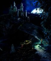 Dracula's Castle by frenchfox
