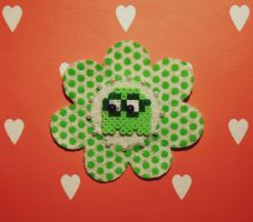 Nerdy Packman Brooch by decora-love