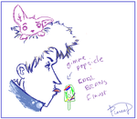 iScribble - Popsicle Guy by PierceDays