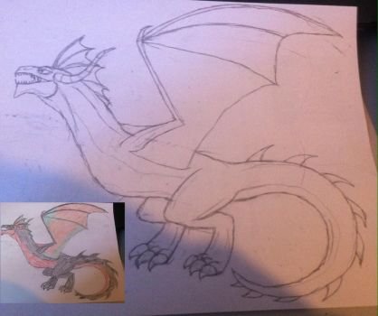Abyss Dragon? by Fireblaze625