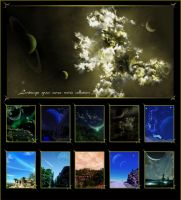 Landscape-Space Poster Big by QieT
