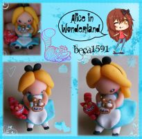 Chibi Alice in wonderland by Beca1591