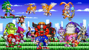 Sonic Extended Generations Scene 16 by TheTodStar