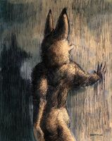 Hand Through the Wall of Water by Zethelius