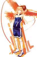 knb: falcon in the dive by califlair