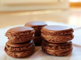 Nutella Macarons by MerenwenTheBeautiful