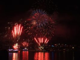 Fleet Review Fireworks 27 by BrendanR85