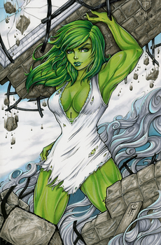 Savage She Hulk by ColletteTurner