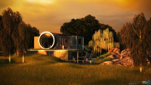 3ds Max - Exterior 8 by Puttee