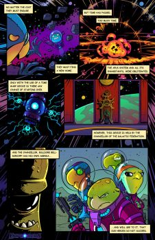 Explorers Comic Prologue Page 2 by cschroder