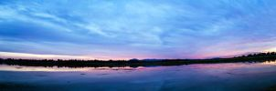 Sunset panorama by eror11