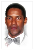 Denzel Washington by kenernest63a
