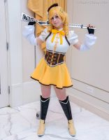 Mami Tomoe- A Girl And Her Gun by BlackRoseMikage