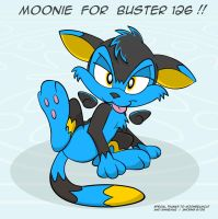 Moonie Gift for Buster 126 by 8Horns