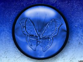 Blue Butterfly by frotton