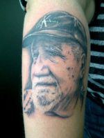 Tattoo nr 6: The Dad by ShackledMuse