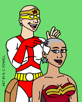 Madame Cueball's Salon - Wonder Woman by Rennon-the-Shaved