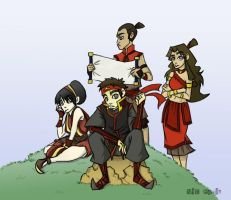 Avatar: Where we is? colored by NicParris
