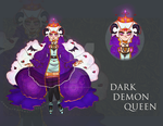 DARK DEMON QUEEN ADOPT AUCTION [CLOSED] (#13) by miotess-adopts