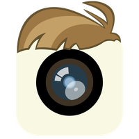 Featherweight Mane iPhone Camera App Icon by craftybrony