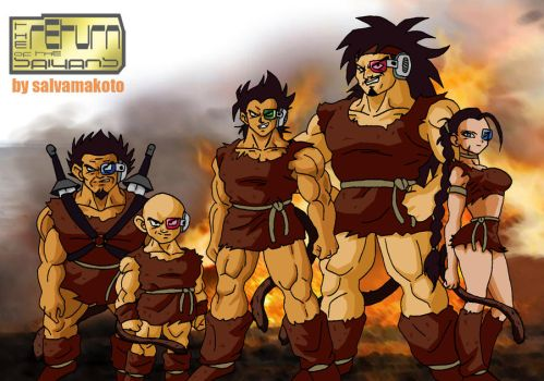 SAIYANS_RETURN OF THE SAIYANS by salvamakoto