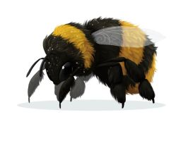Bumble Bee by AnnieHyena