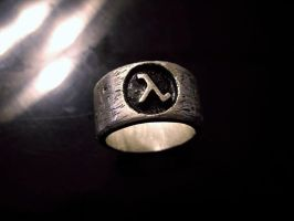 Half-Life Ensignia Ring by GrinningManiac