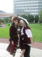 Anime Boston: You can borrow my coat~ by XEPICTACOSx