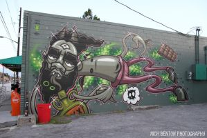 Orlando Graffiti by NickBentonArt