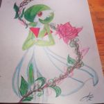 Gardevoir colors by JIROLOL7u7