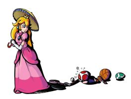 Smash Bros. Project: Peach by Garlar
