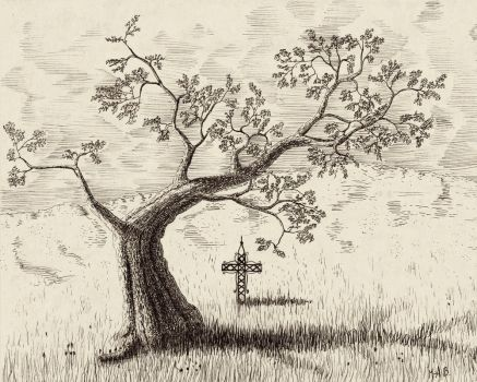 The tree and the cross by maarkb