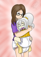 In My Mommy's Arms by AbeSedecim