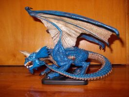 Dungeons and Dragons Blue Dragon by ZarthialDragon