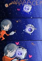 SPACE - Portal 2 Spoiler by Cold-Creature