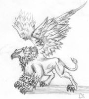 HoMM's griffin by Selenolis