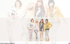 2ne1 - say Hey by Sweetkrystyna