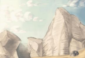 chalk cliffs by RinkaManoha