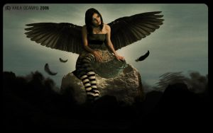 Dark Angel by eerie-silence