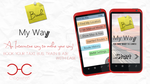 Book My Way Concept Mobile Application by cyogesh56