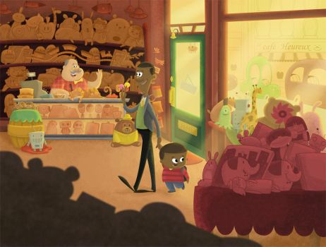 The Toy Shop by 2DCale